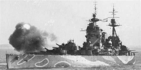 How bad was the condition of the HMS Rodney when it sank