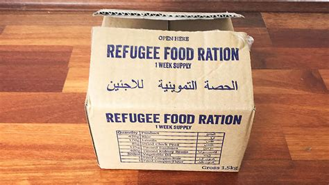 Why I will be eating like a Syrian refugee for a week