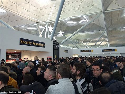 Flight delays at Stansted airport after staff open the