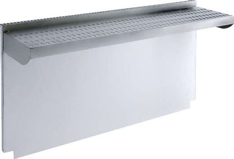 """Wolf 804391 20"""" Stainless Steel Riser with Shelf"""