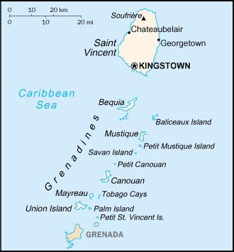 Travellers' Guide To Saint Vincent and the Grenadines