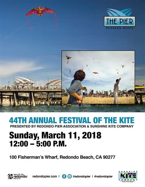 44th Annual Festival of The Kite Presented by The Redondo