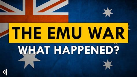 The Great Emu War EXPLAINED | Cool History - YouTube