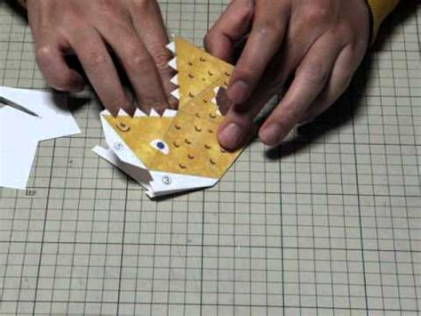 origami - action origami - snapper: aditional explanation