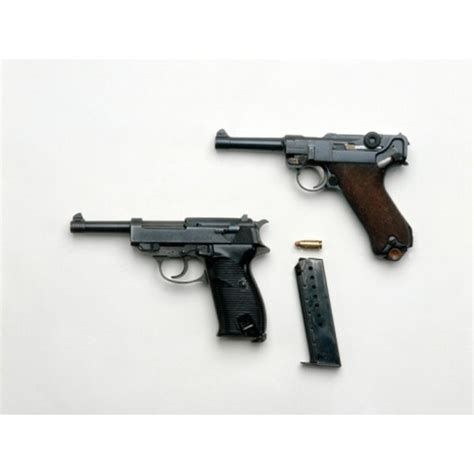 Identification of the Luger P08 | Synonym