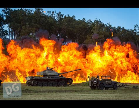 Napalm strike at Emu Gully Land and Air Show | Contact