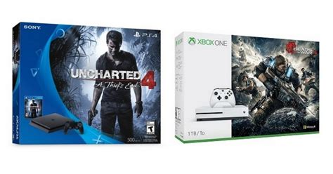 Purchase Xbox One S or Playstation 4 Console Bundles get a
