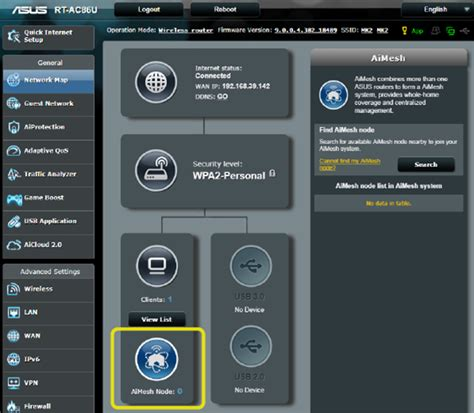You can now use multiple ASUS routers to create a mesh Wi
