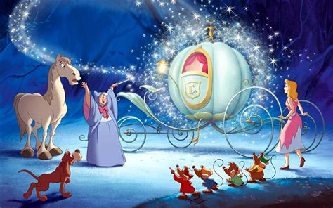 Cinderella Now Can Go Of Royal Party Royal Chariot Ready