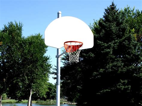 Free picture: basketball hoop, basketball court, playground