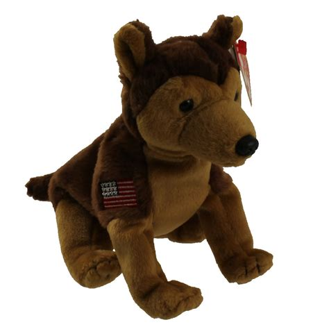 TY Beanie Baby - COURAGE the NYPD Dog (6 inch): BBToyStore