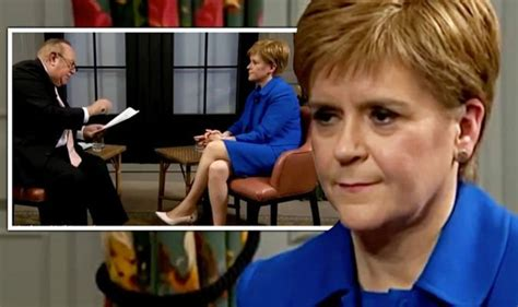 Nicola Sturgeon BEFORE and AFTER Andrew Neil interview