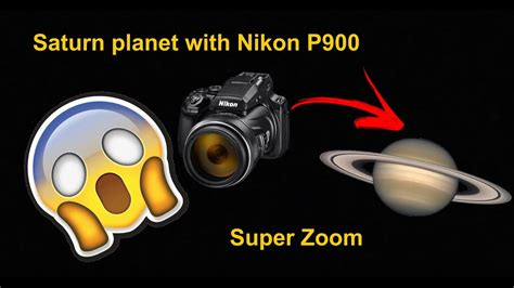Saturn with Nikon P900 - Ultra Zoom - YouTube