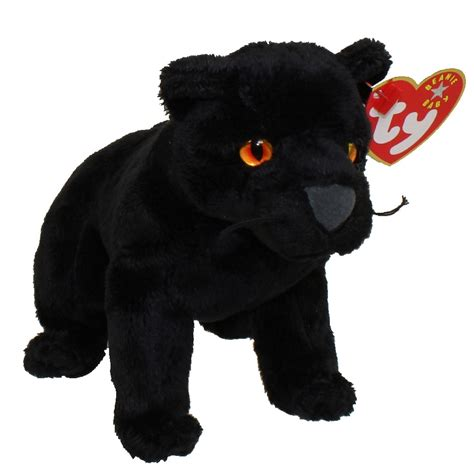 TY Beanie Baby - MIDNIGHT the Black Panther (5