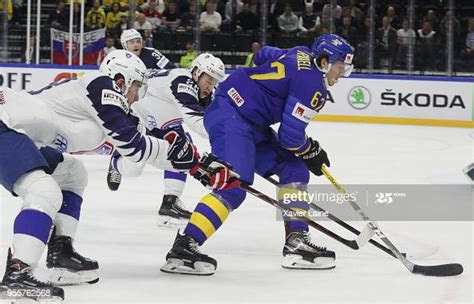 Rickard Rakell of Sweden in action during the 2018 IIHF