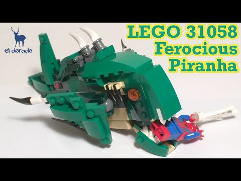 Lego Sea Creatures - The Good, The Bad, & The Ugly