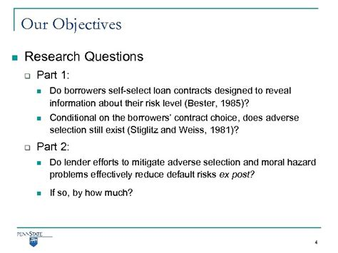 Screening for Moral Hazard and Adverse Selection Evidence