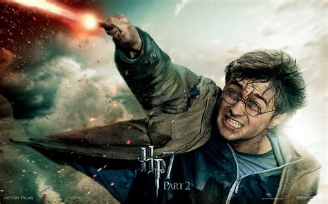 Harry Potter in Deathly Hallows Part 2 Wallpapers   HD
