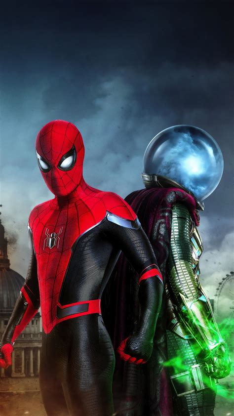 Spider-Man Far From Home Hydro-Man 5K Wallpapers   HD