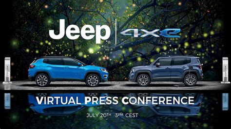 Jeep Renegade 4xe And Compass 4xe PHEVs To Be Unveiled On