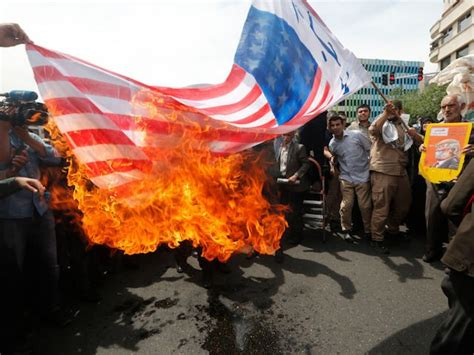 'Death to America': Iran Stages Anti-American Protests