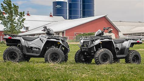 Polaris Four Wheelers Lineup Has Something for Every