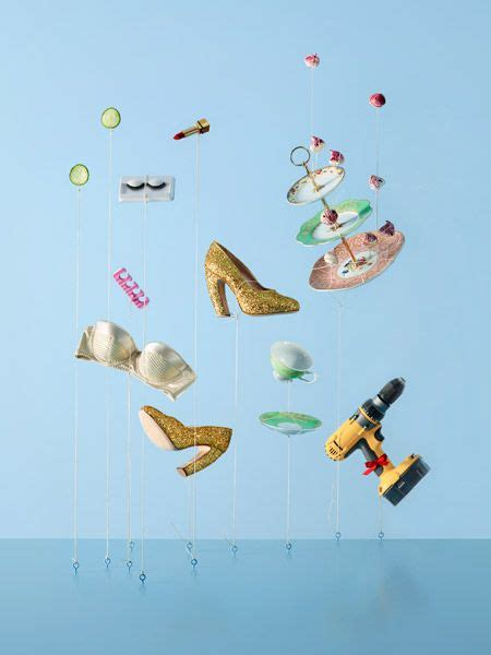 Avios, Falling Everyday Object Photos by Carl Kleiner