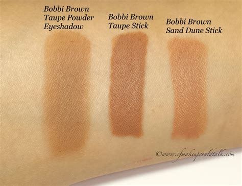 Bobbi Brown Taupe Long-Wear Cream Shadow Stick review and