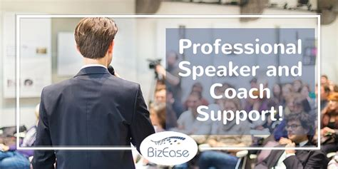 Online Support for Professional Speakers