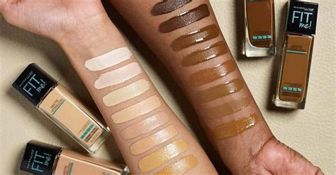 Maybelline FIT Me Foundation Adds 16 New Shades | Teen Vogue