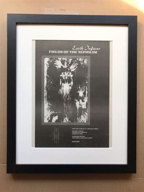 Fields Of The Nephilim Earth Inferno Vinyl Records and CDs