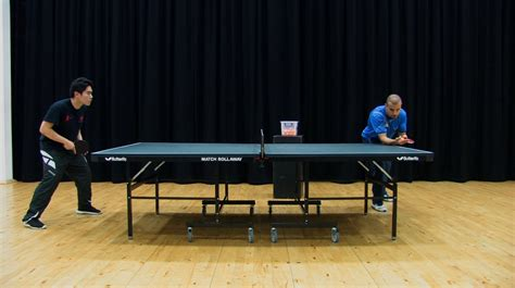 How To Do A Side Spin Pendulum Serve In Table Tennis Feb 2021