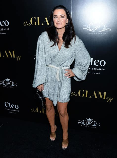 KYLE RICHARDS at The Glam App Launch in Los Angeles 06/19