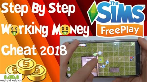 The Sims Freeplay Cheats 2018 💰🤑Money Glitch Hack🤑💰👌Real