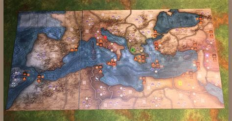 Mare Nostrum: Empires – Giant Map | Board Game Accessory