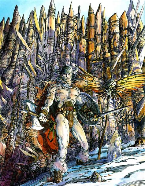 Opus #1 by Barry Windsor Smith - Pencil Ink