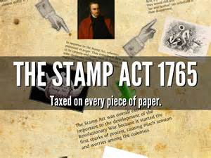 The Stamp Act by Celeste Guizar