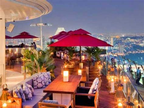 Rooftop Bars in Singapore - Marina Bay Sands