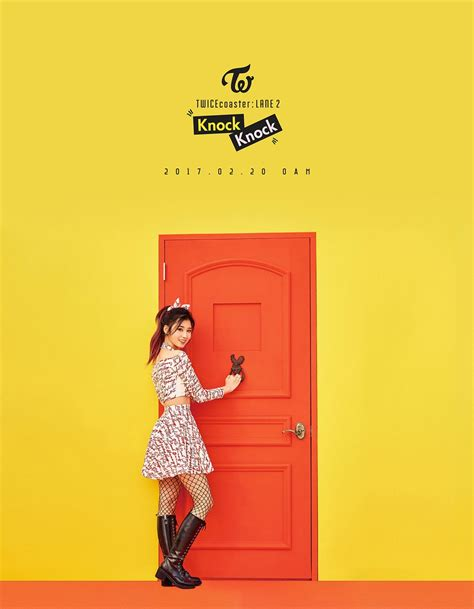 """TWICE Reveals First Individual Teasers For """"Knock Knock"""