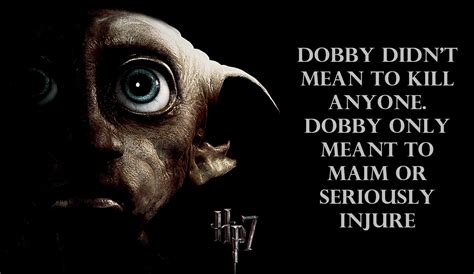 harry potter and the deathly hallows - dobby - Harry