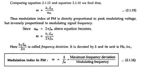 The Concept of Angle Modulation and Its Waveform