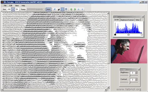 Convert Pictures into ASCII Text Images