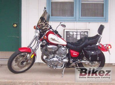 1995 Yamaha XV 750 Virago specifications and pictures