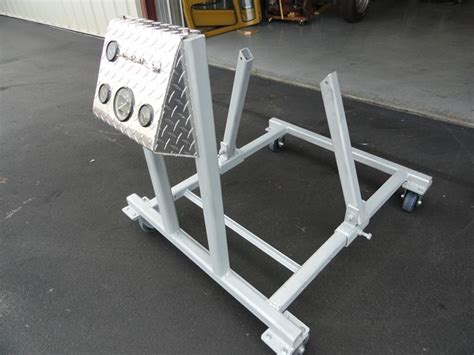 Homemade Engine Test Stand - Plans and Dimensions Included