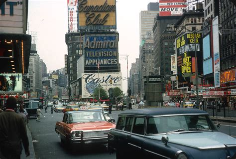 Times Square, New York City – 1964 | Facing Duffy Square