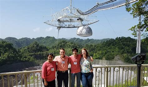 Engineering students tour, study at world-famous Arecibo