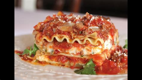 The Best Meat Lasagna Recipe -- How to Make Homemade