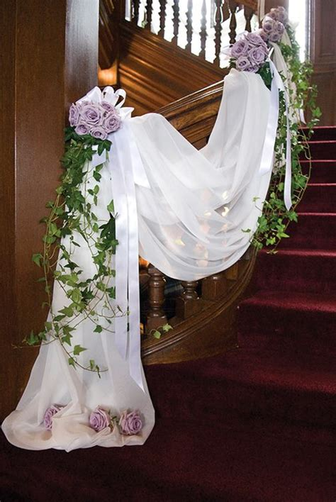 20 Best Staircases Wedding Decoration Ideas   Deer Pearl