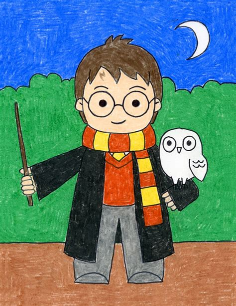 How to Draw Harry Potter · Art Projects for Kids