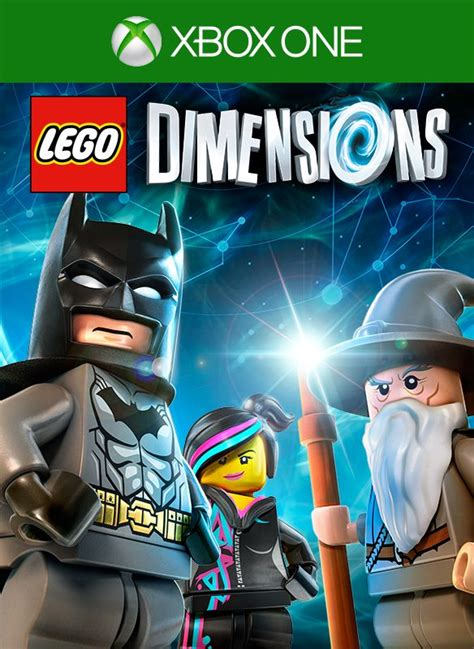 LEGO Dimensions (2015) Xbox One box cover art - MobyGames